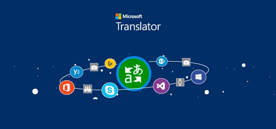 Software Microsoft Translator