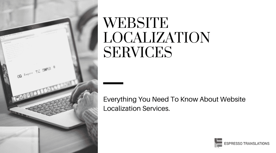 Website localization services