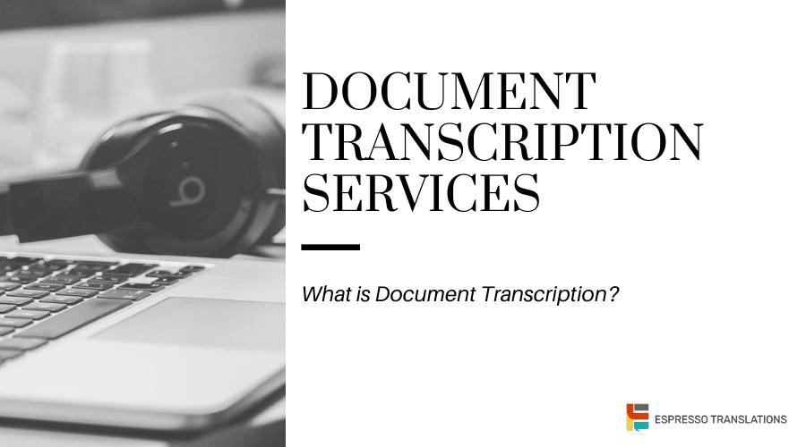 Document transcription